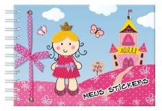 Álbum Stickers Princesinha Esp 83 Fina Ideia