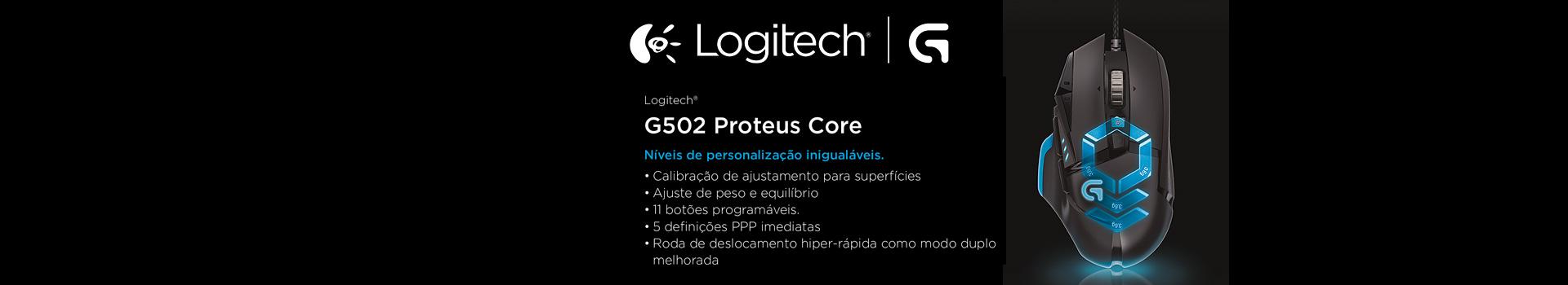 Mouse Gamer G502 Proteus Core