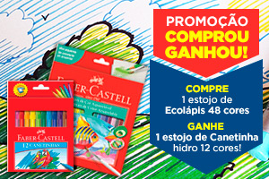 Promocao Faber Castell