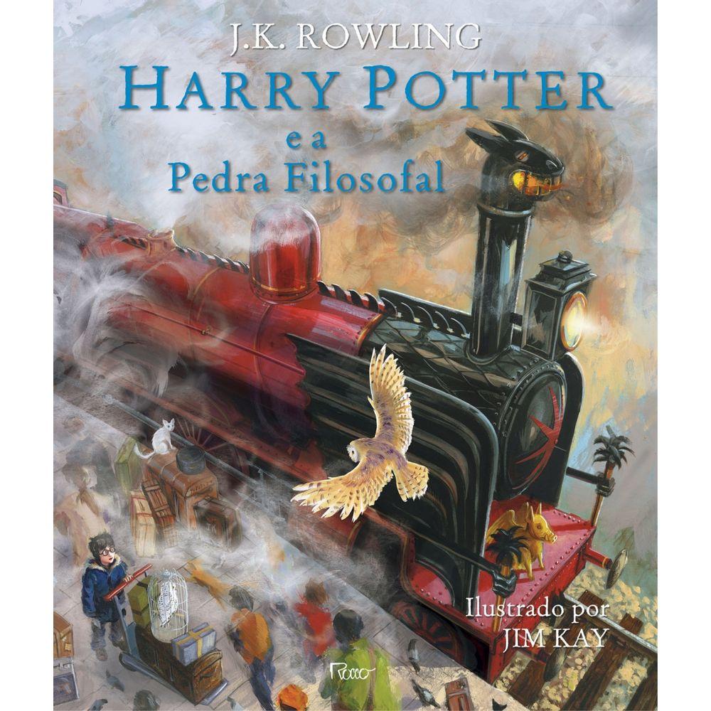 Harry Potter É A Pedra Filosofal regarding harry potter e a pedra filosofal - ilustrado - rocco - livrarias