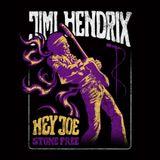 Camiseta-Jimi-Hendrix---Stone-Free---Cor-Preta---Tamanho-Gg