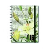 Agenda-2016-Espiral-Diaria-Flora-Lirio-4016-Teca