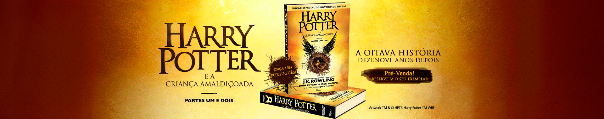 Harry Potter  - e a criança amaldiçoada