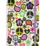 CADERNO-MID-SIZE-PEACE-OUT-4101-JOURNAL-PETER-PAUPER