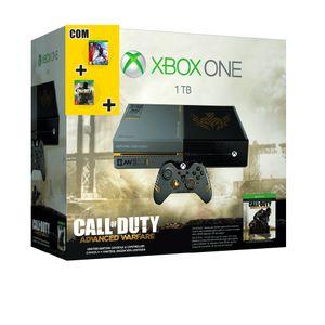Console Xbox One 1tb + 3 Jogos