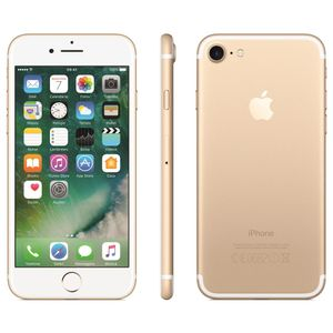 Iphone 7 Apple Dourado Mn942br/a Tela 4.7 Memoria 128gb 12mp Coprocessad