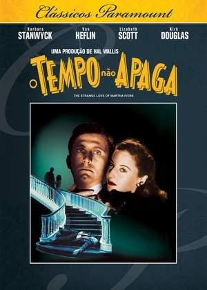 DVD O Tempo Não Apaga - Kirk Douglas, Barbara Stanwyck - Clássicos Paramount