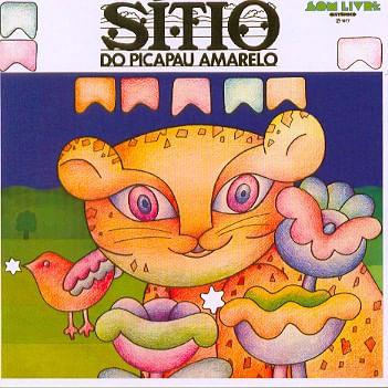 CD Sítio Do Picapau Amarelo - 1977