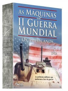 DVD As Máquinas Da Ii Guerra Mundial - Os Americanos ( 5 DVDs )