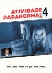 DVD Atividade Paranormal 4
