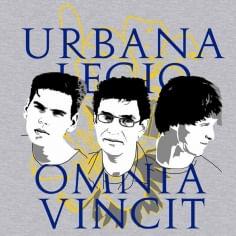Camiseta Legião Urbana - Cor Cinza - Tamanho G
