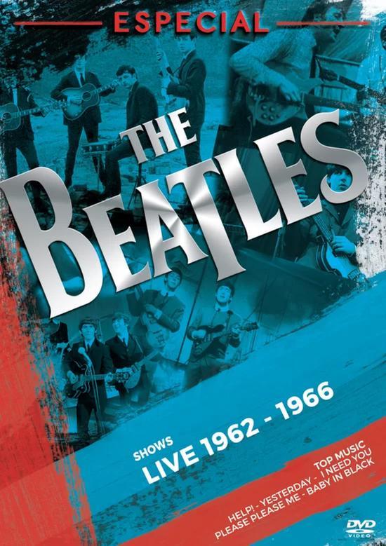 DVD Beatles - Especial - Shows Live 1962 - 1966