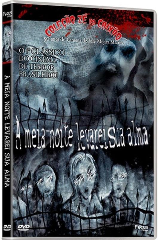 DVD À Meia - Noite Levarei Sua Alma - Coleção Zé Do Caixão