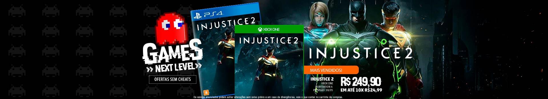 Pré-venda Injustice 2