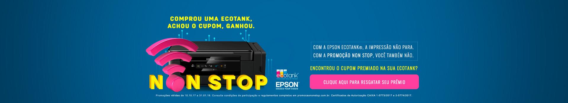 Promoção Epson EcoTank