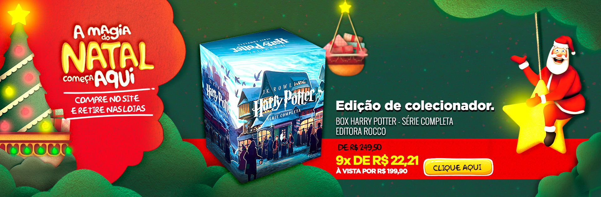 Natal - Box Harry Potter