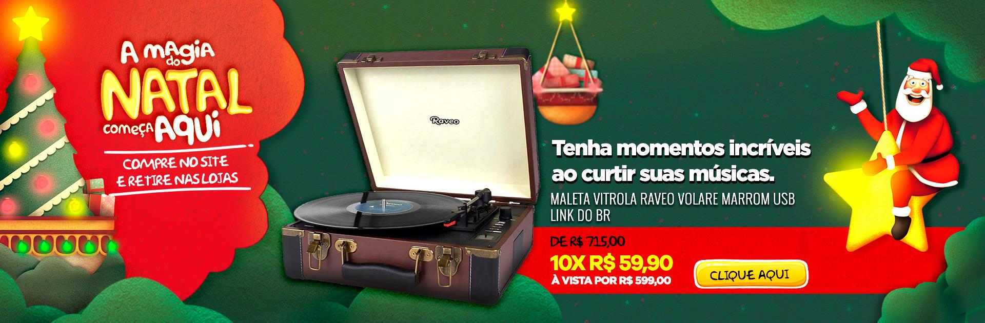 Natal - Vitrola