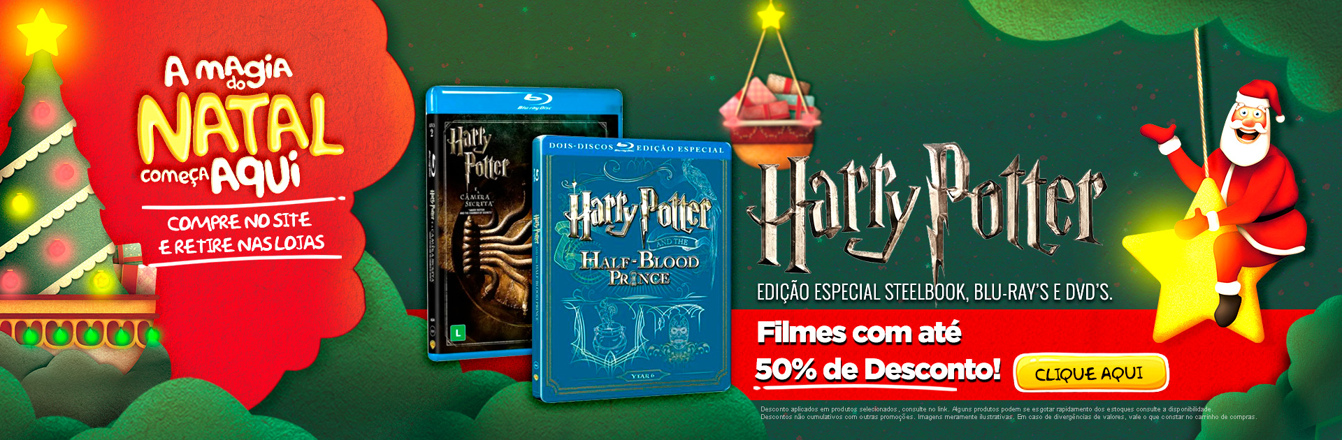 Natal - Filmes Harry Potter