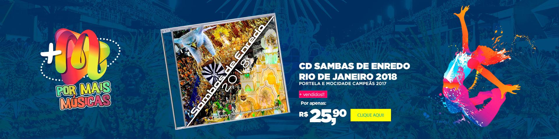 Sambas de Enredo 2018