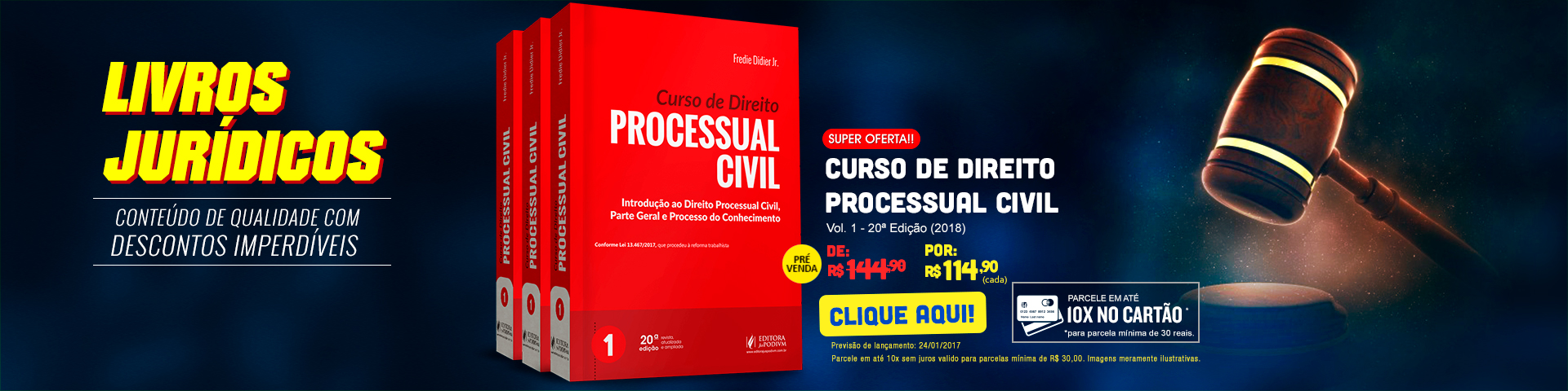 Livros Jurídicos - Curso de Direito Processual Civil