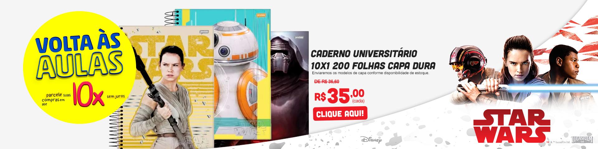 Cadernos Star Wars
