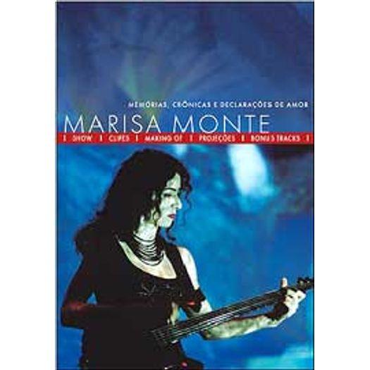 DVD Marisa Monte - Memorias 63e84ec3f6e