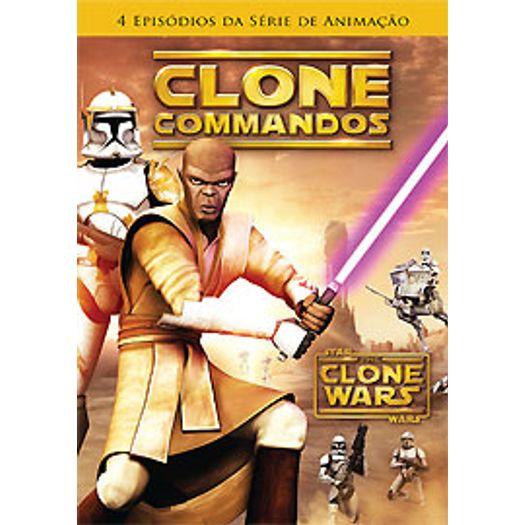 DVD Star Wars - Clone Wars - Uma Galáxia Dividida Vol 2 - Livrarias