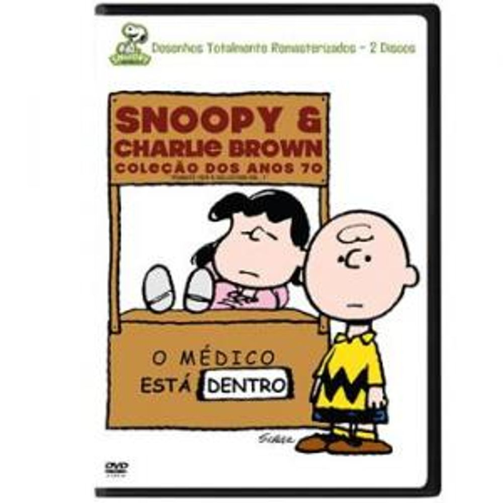 Dvd Snoopy Charlie Brown Colecao Dos Anos 70 2 Dvds