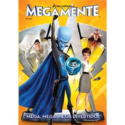 Dvd Megamente Livrarias Curitiba