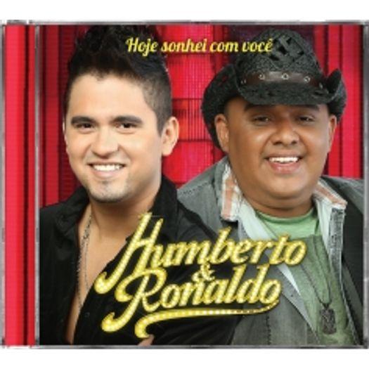 cd humberto e ronaldo hoje eu sonhei com voce