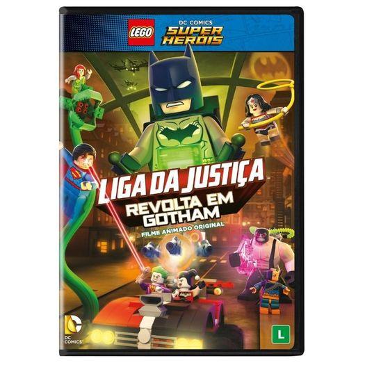 Dvd Lego Liga Da Justica Revolta Em Gotham Livrarias Curitiba