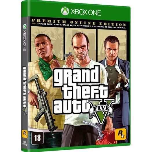 Jogo Gta V Premium Online Edition - Xbox One - Rockstar Games
