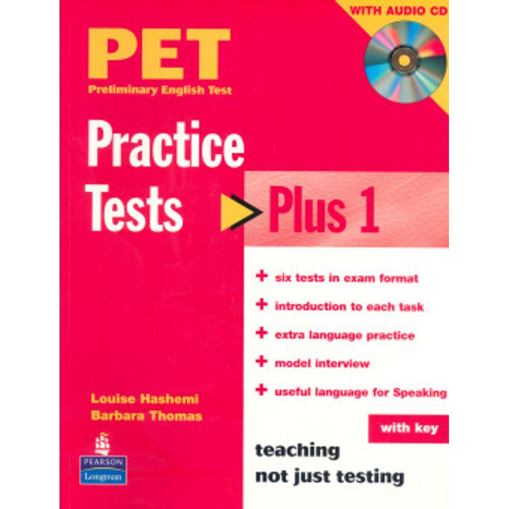 Pet Practice Tests Plus With Key - Longman - Livrarias Curitiba