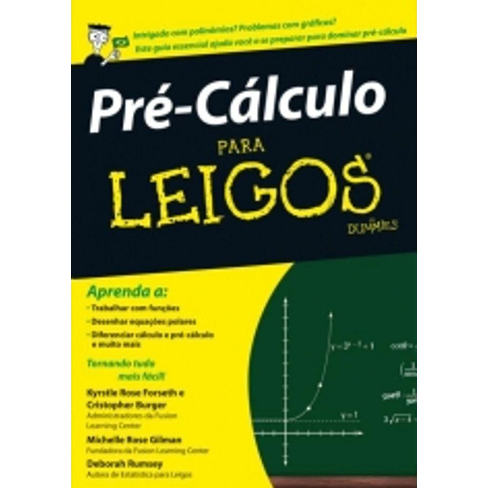 Pre Calculo Para Leigos   Altabooks 20 Ed   Livrarias Curitiba