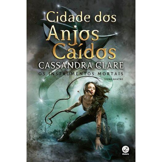 Cidade Dos Anjos Caidos Vol 4 Galera Livrarias Curitiba