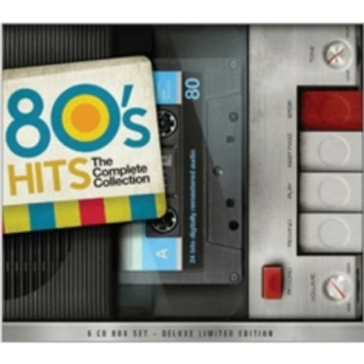 9fc0ea26e834a CD 80 S Hits - The Complete Collection (6 CDs) - Livrarias Curitiba