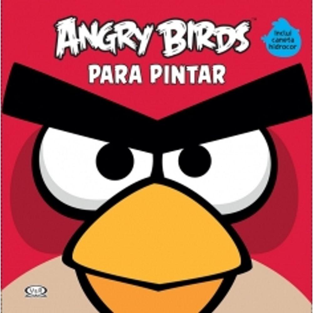 Angry Birds Para Pintar Vergara E Riba Livrarias Curitiba