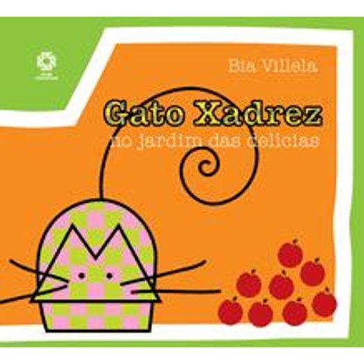Gato Xadrez No Jardim Das Delicias - Escala - Livrarias