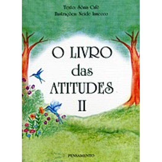 Livro Das Atitudes O Vol Ii Pensamento Livrarias Curitiba
