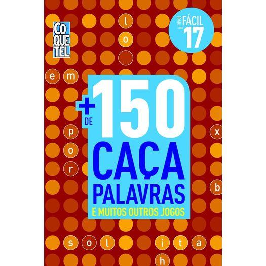30e00e2725812 Mais De 150 Caca Palavras - Nivel Facil - Livro 17 - Coquetel ...