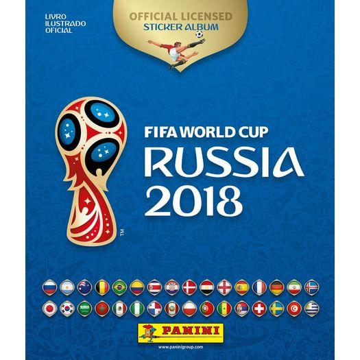 4aae7a4e4 Album Da Copa Do Mundo 2018 - Capa Dura - Panini - Livrarias Curitiba