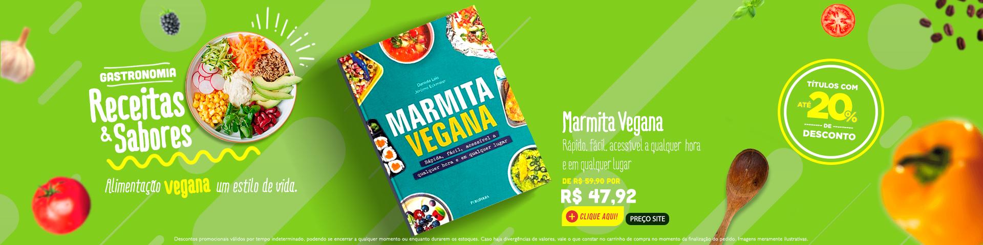 Gastronomia - Marmita Vegana