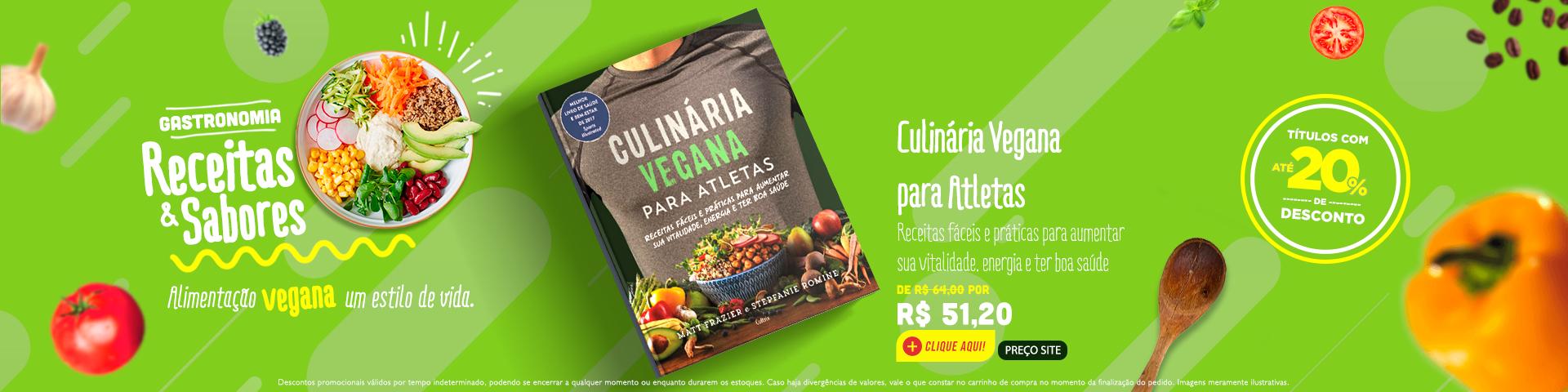 Gastronomia - Culinária vegana para atletas