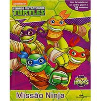 Tartarugas Ninja Missao Ninja Melhoramentos Livrarias Curitiba