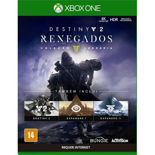 Jogo Destiny 2 Renegados - Xbox One - Activision
