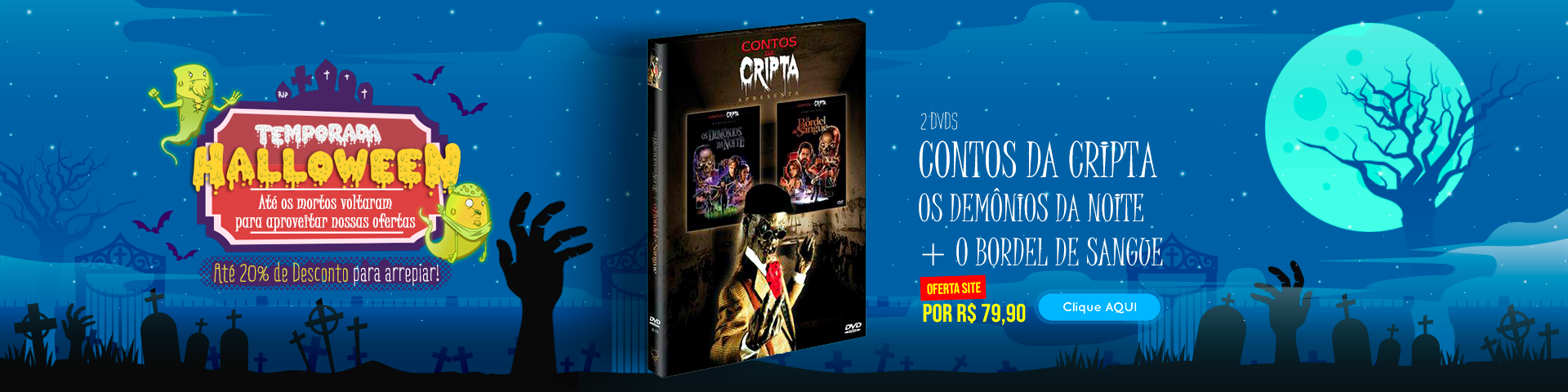 Halloween - Contos da Cripta