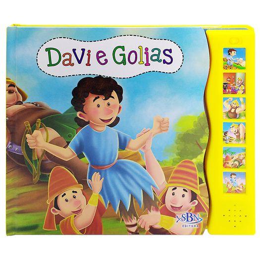 Historias Da Biblia Davi E Golias Todolivro Livrarias Curitiba