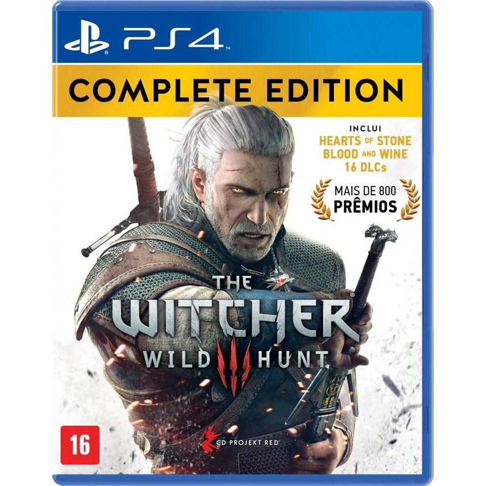 The Witcher 3 Wild Hunt Complete Edition Ps4 Livrarias Curitiba