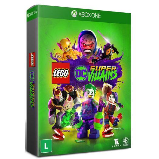 Lego Dc Super Villains Xone Livrarias Curitiba