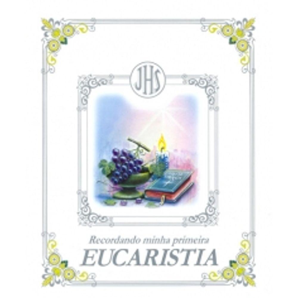 Recordando Minha Primeira Eucaristia Paulus Livrarias Curitiba